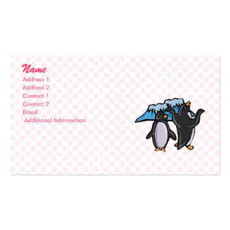 Penny and Perry Penguin Business Card