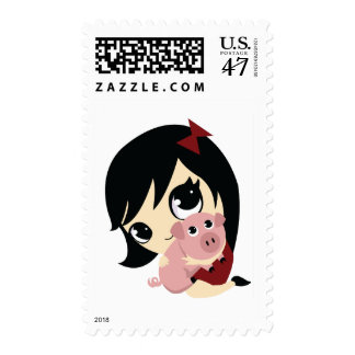 Penny and Snickerdoodle Postage