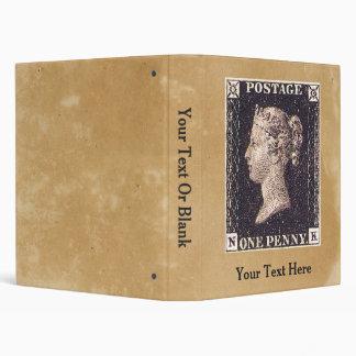 Penny Black Postage Stamp 3 Ring Binders