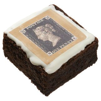Penny Black Postage Stamp Chocolate Brownie