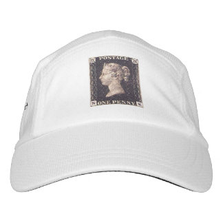 Penny Black Postage Stamp Headsweats Hat
