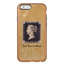 Penny Black Postage Stamp Incipio Feather Shine iPhone 6 Case