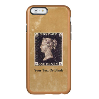Penny Black Postage Stamp Incipio Feather Shine iPhone 6 Case