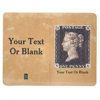 Penny Black Postage Stamp Journal