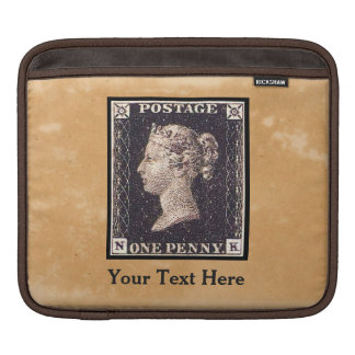 Penny Black Postage Stamp Sleeve For iPads