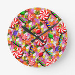 Penny Candy Wall Clock
