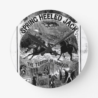 Penny Dreadful - Spring-heeled Jack Round Clock