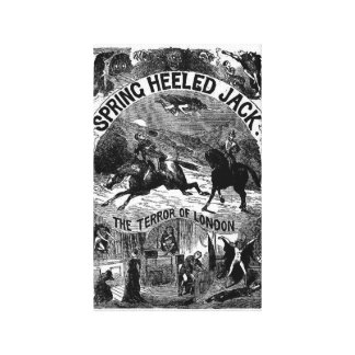 Penny Dreadful - Spring-heeled Jack Wrapped Canvas