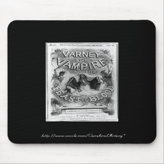 Penny Dreadful - Varney Vampire - Mousepad (Black)