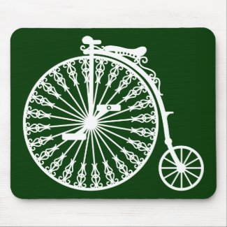 Penny-farthing2 Mouse Pads
