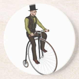 Penny Farthing Bicycle Drink Coaster
