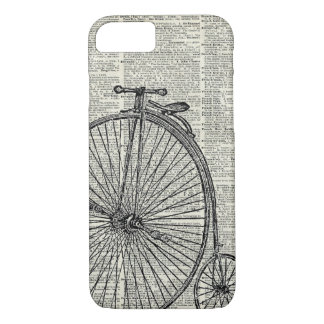 Penny Farthing bicycle iPhone 8/7 Case