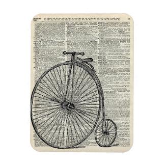 Penny Farthing bicycle Rectangular Photo Magnet
