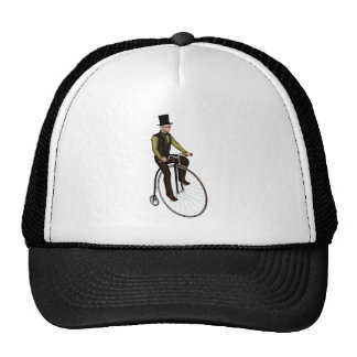 Penny Farthing Bicycle Trucker Hat