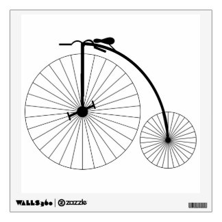 Penny Farthing Bicycle Wall Sticker