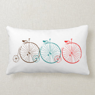 Penny Farthing Bicycles Pillows
