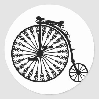 Penny-farthing Classic Round Sticker