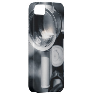 Penny Farthing Lit  Head Lamp iPhone 5 Cases