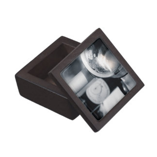 Penny Farthing Lit Head Lamp Gift Box
