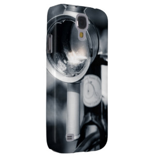 Penny Farthing Lit Head Lamp Samsung Galaxy S4 Cover