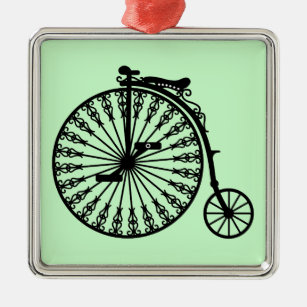 Penny-farthing Metal Ornament