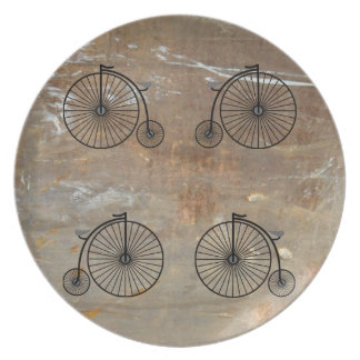 Penny Farthing Plate