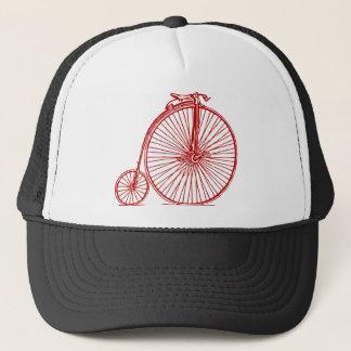 Penny Farthing - Ruby Red Trucker Hat