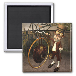 Penny Farthing Steampunk Magnets