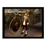 Penny Farthing Steampunk Postcards