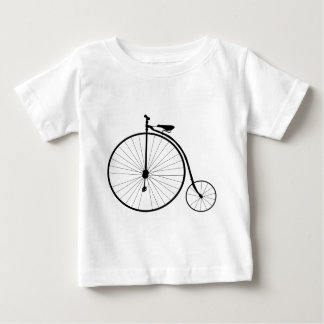 Penny Farthing Victorian Era Bicycle Baby T-Shirt