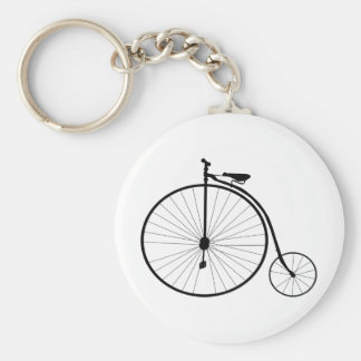 Penny Farthing Victorian Era Bicycle Keychain