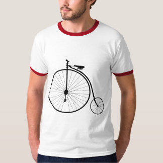 Penny Farthing Victorian Era Bicycle T-Shirt