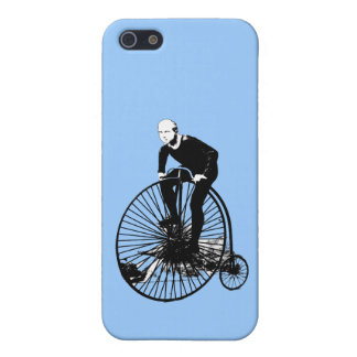 Penny Farthing Vintage Bicycle Art Case For iPhone 5