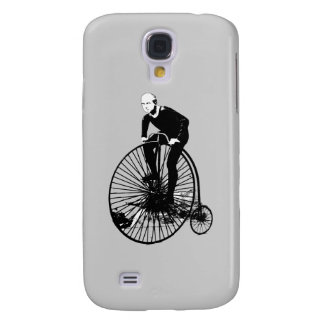 Penny Farthing Vintage Bicycle Art Samsung Galaxy S4 Case