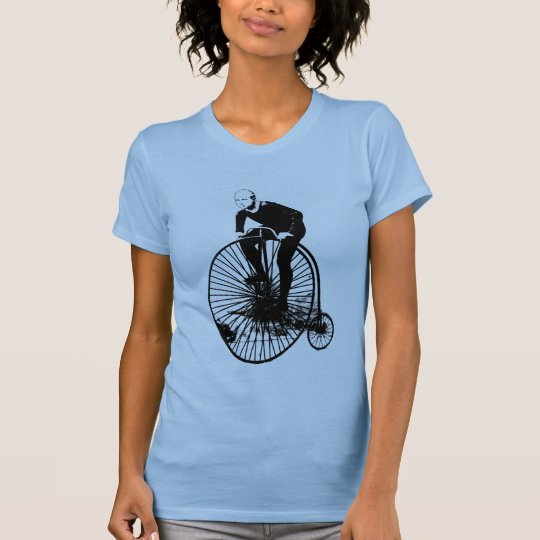 Penny Farthing Vintage Bicycle Art T-Shirt