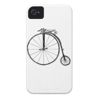 Penny Farthing Vintage Bicycle Illustration Case-Mate iPhone 4 Case