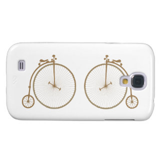 Penny-farthings high wheel bicycles samsung galaxy s4 cover