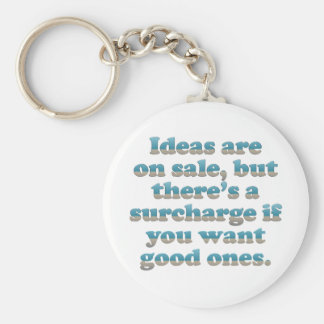 Penny For My Thoughts Keychain