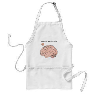Penny  for your Thoughts Adult Apron