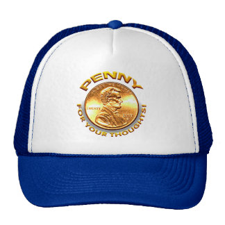 Penny for your thoughts! hats