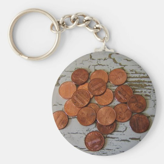 Penny for Your thoughts Keychain