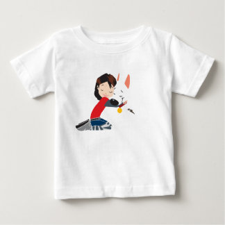 Penny Hugging BOLT Disney Baby T-Shirt