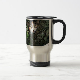 Penny in the tree 15 oz stainless steel travel mug