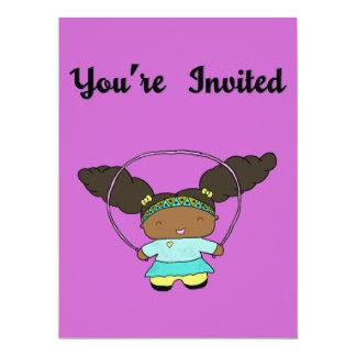 Penny Jumping Invitation
