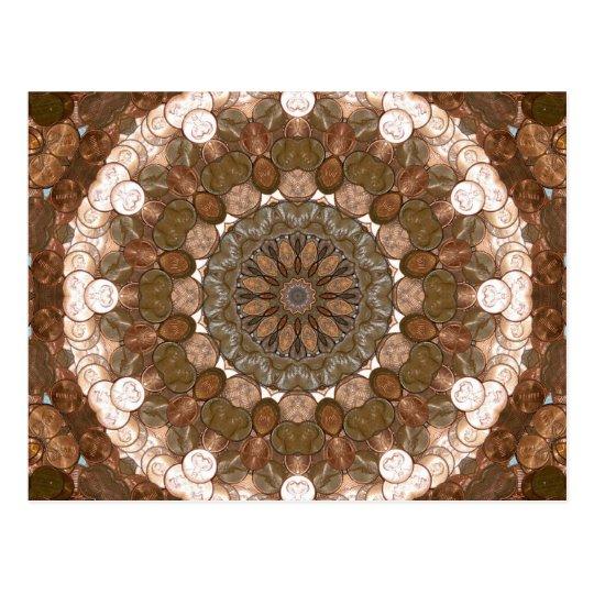Penny Kaleidoscope Nov 2012 Postcard