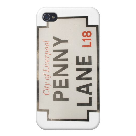 Penny Lane Covers For iPhone 4