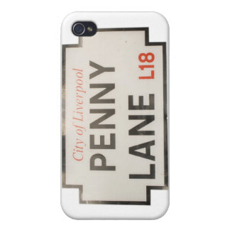Penny Lane iPhone 4 Cover