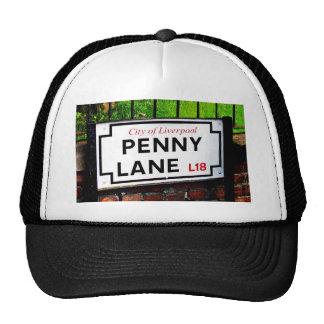 penny lane Liverpool England sign Trucker Hat
