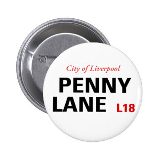 Penny Lane Sign Button