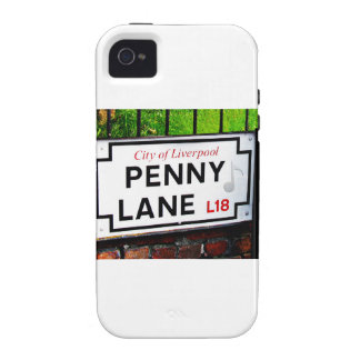 Penny Lane sign from the city of Liverpool England Case For The iPhone 4